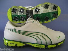 ~NIB~Puma SUPER CELL FUSION ICE Golf Cleats amp IdCELL S2Q spike Shoes~Mens sz 9