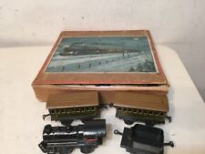 Rare Antique Bing Clockwork Train Boxed Set New York Central NYC & H R Hartford?