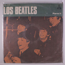 BEATLES: Los Beatles Para Ti LP Sealed (Uruguay, sealed in loose outer wrap)