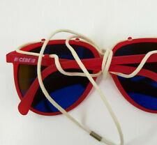 Vintage Cebe 1912 Mirrored Aviator Sunglasses Mountaineering Ski Glacier Glasses
