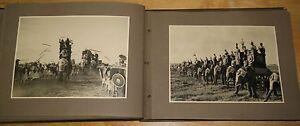 original italian movie photo album SCIPIONE L'AFRICANO - 1937 FASCISM PROPAGANDA
