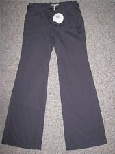 NWT BCBGeneration GREY SMOKE FLARE LEG CASUAL PANTS SIZE 8 LENGTH 34 RETAIL $88