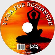 SUPERB EASY TO FOLLOW BEGINNERS LESSONS GUIDE YOGA WORKOUT VIDEO DVD + AUDIO CD
