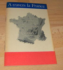 DDR-  A travers la France + Lesetexte französisch ++Schule
