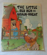 1932 The Little Red Hen and the Grain of Wheat The Platt & Munk Company Inc.