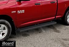 "6"" Black iBoard Running Boards Nerf Bars Fit 09-18 Dodge Ram 1500 Quad Cab"