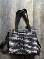 SKIP HOP Diaper Bag, Baby Diaper Bag, Black Polka Dot