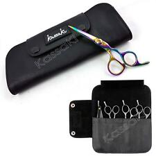 Leather Scissor Case Salon Barber Razor storage wallet Kassaki