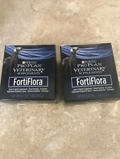 New listing Lot Of 2 - Purina FortiFlora for Dogs - 60 Sachets - Total Expires 05/2021