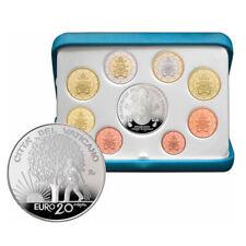 Vatikan EURO-Kurssatz KMS 2019 PP mit 20 Euro Silbermünze - Kursmünzensatz