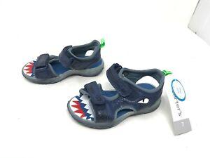 Boys Toddlers (CS190182) Dilan Navy dinosaur sandals (457A)