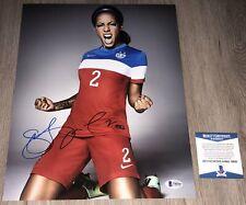 SYDNEY LEROUX SIGNED AUTOGRAPH TEAM USA WORLD CUP 11x14 PHOTO & BECKETT BAS COA