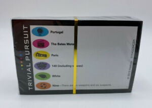 Sealed Deck of 100 Trivia Cards for Trivial Pursuit Party Edition