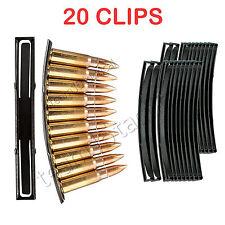 20PCS Steel 10 Round SKS 7.62x39 Ammo Loader Reload Stripper Mag Clips US seller