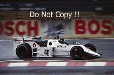 Stefan Johansson Spirit 201C German Grand Prix 1983 Photograph