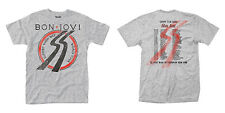 BON JOVI Slippery When Wet European Tour 1986 T-shirt OFFICIAL All Sizes Logo