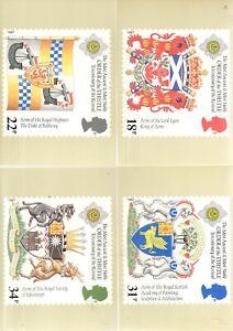 GB PHQ POSTCARDS 1987 SCOTTISH HERALDRY  No 103 MINT