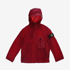 Stone Island Junior Lightweight Hooded Jacket - Red