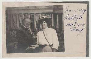 """D2245 : 1907 Nounours Roosevelt Photo """" Modifié """" Carte Postale"""