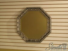 L1675: Friedman Brothers model #7208 Octagonal Silver Decorated Mirror ~ New