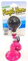 Clean Motion Flugel Horn Durable Steel Bicycle Bike Loud Safety Kids - Pink