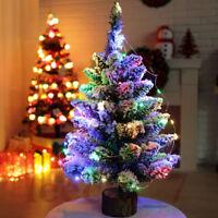 Albero di Natale in miniatura Artificiale da tavolo Mini Christmas Tree Decora*#