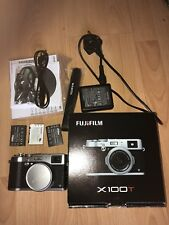 fujifilm x100t silver with extras