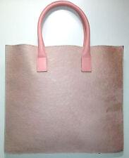 LAMBERTSON TRUEX Pink Pony & Leather Envelope Bag Handbag See Matching Shoes