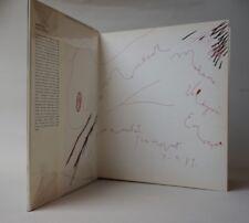 GUINOVART Corredor-Matheos 1981 monographie enrichi d'un grand dessin original