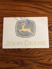 John Deere Tractor Heavy Equipment Decals & Emblems Decals