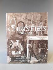 Christie's New York The House Sale November December 2004 Auction Catalog
