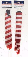 6 American Flag Patriot Red White Blue Stars Holiday Memorial Veterans July BFR