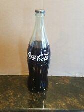 Vintage 1955 FULL Coca-Cola Tall 26 oz.Glass Bottle (1 PT. 10 oz)