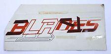 Vintage Original Los Angeles Blades Minor League Hockey Banner Art <See Pics>