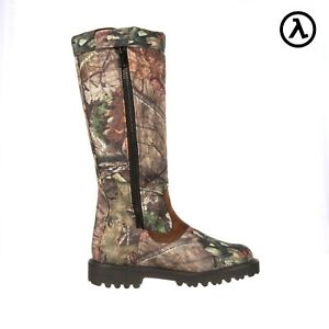 """ROCKY LOW COUNTRY SIDE-ZIP WATERPROOF 16"""" SNAKE BOOTS RKS0232 - ALL SIZES - NEW"""