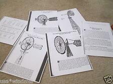 Challenge Sectional, Banner, Daisey & OK Windmill Diagrams & Trade Description