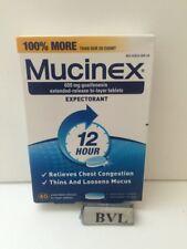 MUCINEX EXPECTORANT 600MG 12 HOUR 40/CT EXP.04/2020