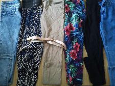 NICE 10x Bundle Donna Pantaloni Attillati Jeans Pantaloni Corti Taglia 8 (2.2)