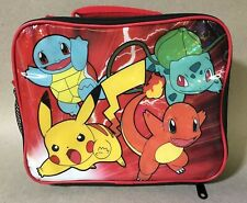 Pokemon Pokeball Dome Shape Insulated School Lunch Bag-7096
