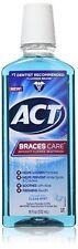 ACT Braces Care Anticavity Fluoride Mouthwash, Clean Mint, 18 oz (3 Pack)