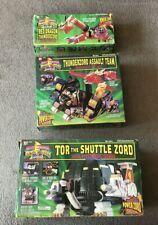 Power Rangers 1994 Thunder Ultrazord - Tor, Red Dragon, & Assault Team Set