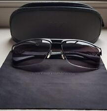 17f22fbabe1 Emporio Armani Black Grey Sunglasses EA2014 3001 8G AUTHENTIC DESIGNER