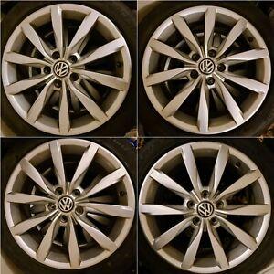 "Volkswagen VW Golf GT Mk7/7.5 17"" Dijon Alloy Wheels Alloys 225/45/17..."