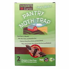 Flour Moth Trap Indian Meal Moth Trap (2 pack) Seed Moth Grain Pantry Moth Trap