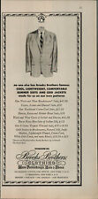 1956 Brooks Brother's Men's Hats and Shoes Vintage Print Ad 3121