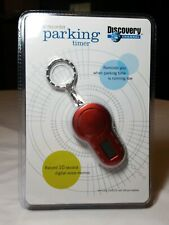 Discovery Channel Voice Recorder Parking Timer, New In Pkg