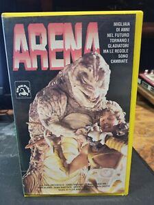 ARENA - VHS - SKORPION - 1990 - EX NOLEGGIO - HORROR - VERY RARE