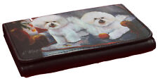 Bichon Frise Themed Breed of Dog Wallet Perfect Gift