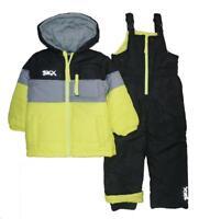 Skechers Boys Yellow & Black 2pc Snowsuit Size 2T 3T 4T 4 5/6 7