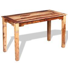 vidaXL Solid Sheesham Wood Dining Table 120x60x76cm Home Kitchen Furniture
